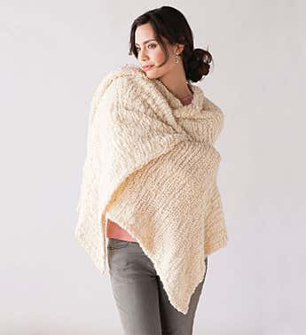 The Giving Shawl with Pin