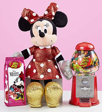 TY® Sparkle Minnie and Jelly Belly Bean Machine Gift Set