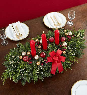 Extravagant Holiday Centerpiece -34""