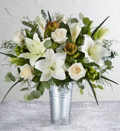 Wild Beauty Snowy Dreams Bouquet