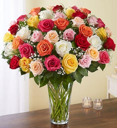 Ultimate Elegance™ Long Stem Assorted Roses