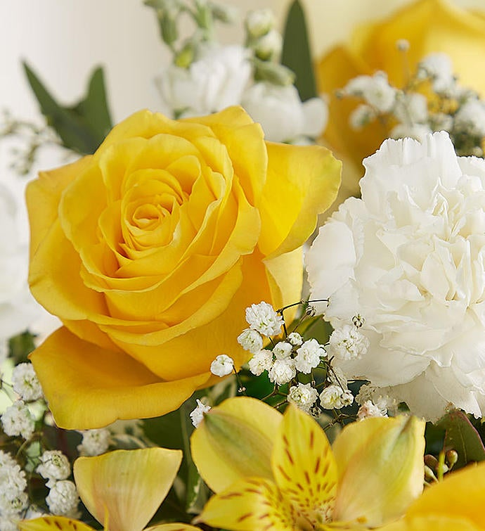 Yellow & White Delight Bouquet