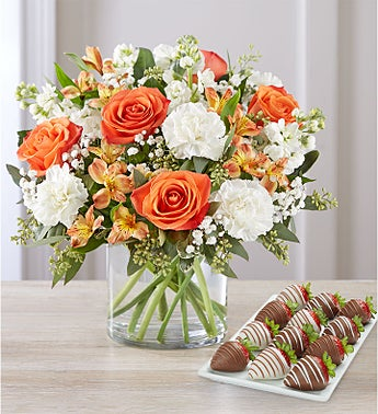 Sweet Citrus™ Bouquet with Strawberries