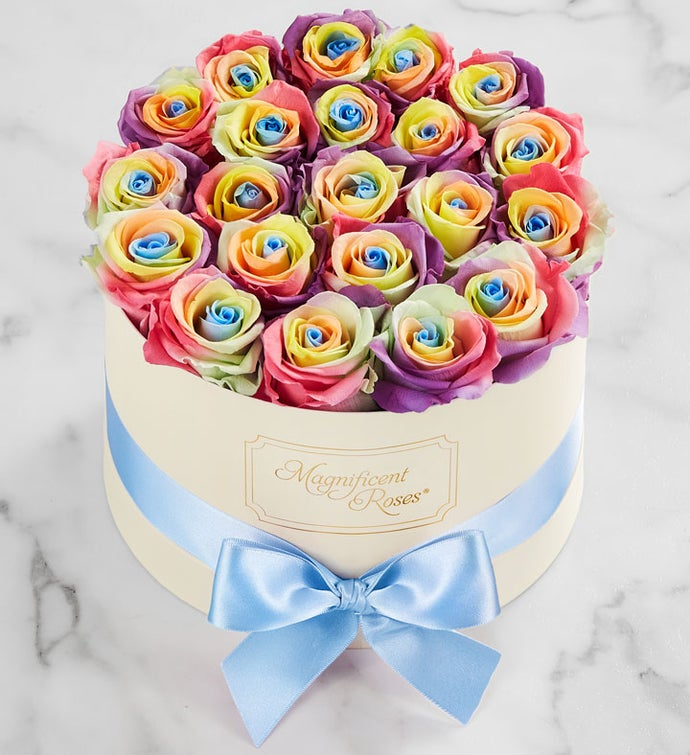 Magnificent Roses® Preserved Kaleidoscope Roses