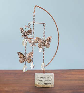 Butterfly Tabletop Sympathy Mobile