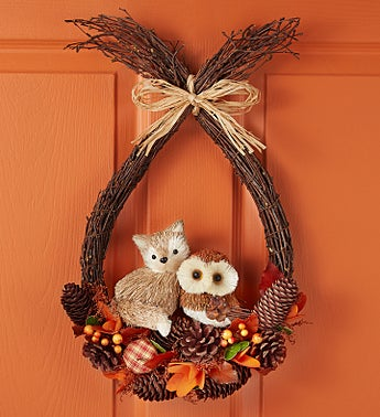 Woodland Friends Wreath