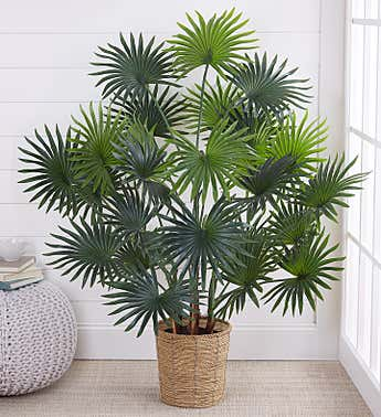 Faux Palm Tree 47""
