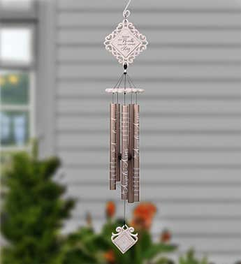 In Angels' Arms Wind Chime-35""