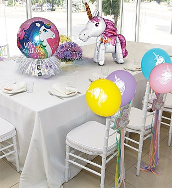 Unicorn Balloon Party Kit