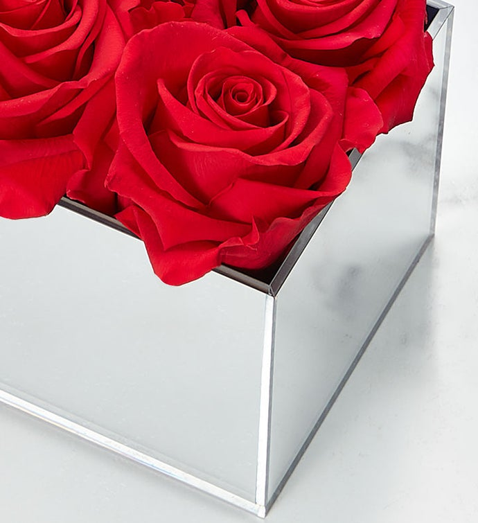 Magnificent Roses® Preserved Red Reflection