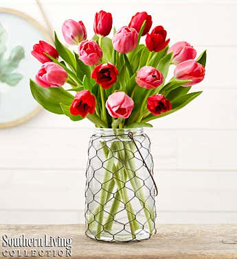 Valentine's Tulip Bouquet by Southern Living®