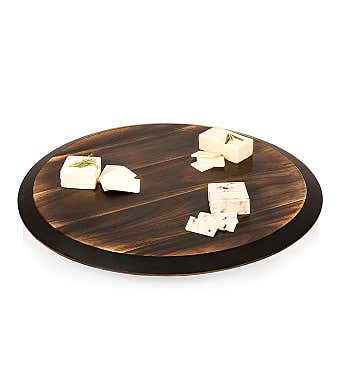 Chalkboard Lazy Susan Serving Tray