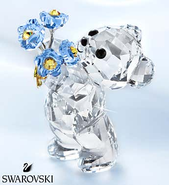 Swarovski Kris Bear Forget Me Not