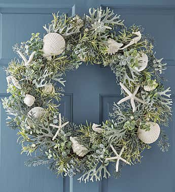 By The Seaside Wreath-22""