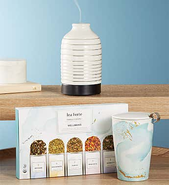 Tea Forte Wellbeing Gift Set