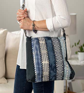 My Journey Beaded Bracelet & Journey Crossbody Bag