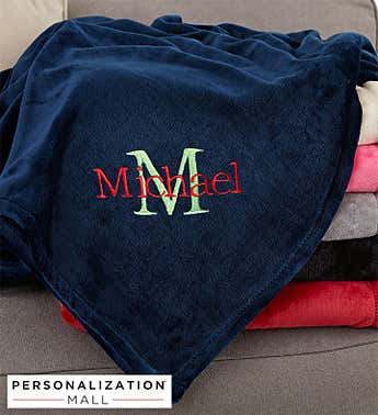 All About Me Personalized 50x60 Fleece Blanket