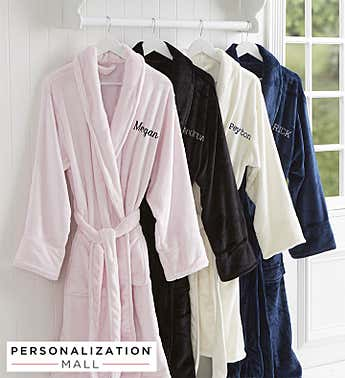 Personalized Classic Comfort Fleece Robe