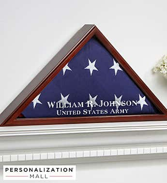 Personalized American Hero Flag Case
