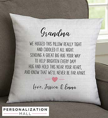 Hug Me Personalized Pillow