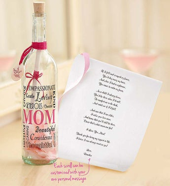 Personalized Message in a Bottle® for Mom