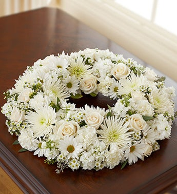 Florists Choice Sympathy Wreath