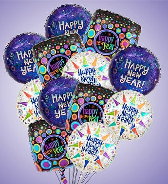 Air-Rangement® - Happy New Year Mylar Balloons