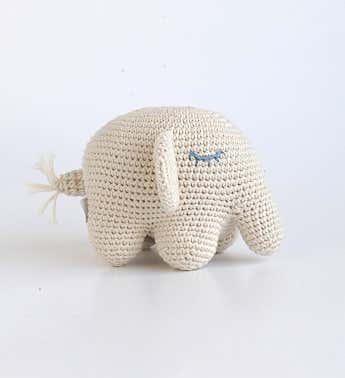 Organic Cotton Plush Animal