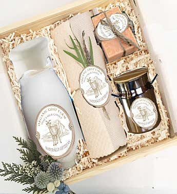 Natural Goat's Milk And Soy Luxury Box