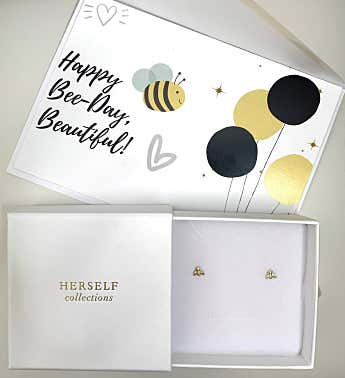 Earring Bee-day Set