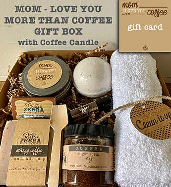 Mom Coffee Spa Gift Box