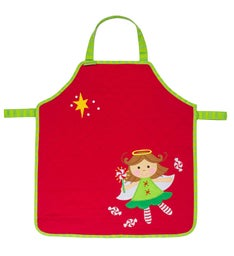 Quilted Christmas Apron