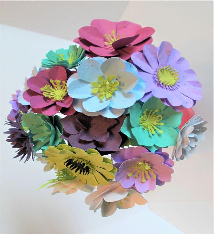 Large Plantable Paper Flower Bouquet