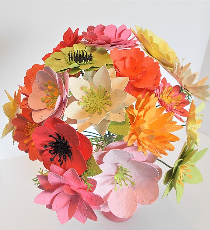 Seed Paper Flower Bouquet