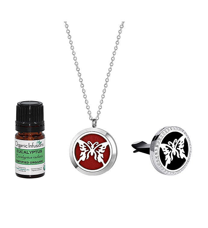 Butterfly Essential Oil Gift Set