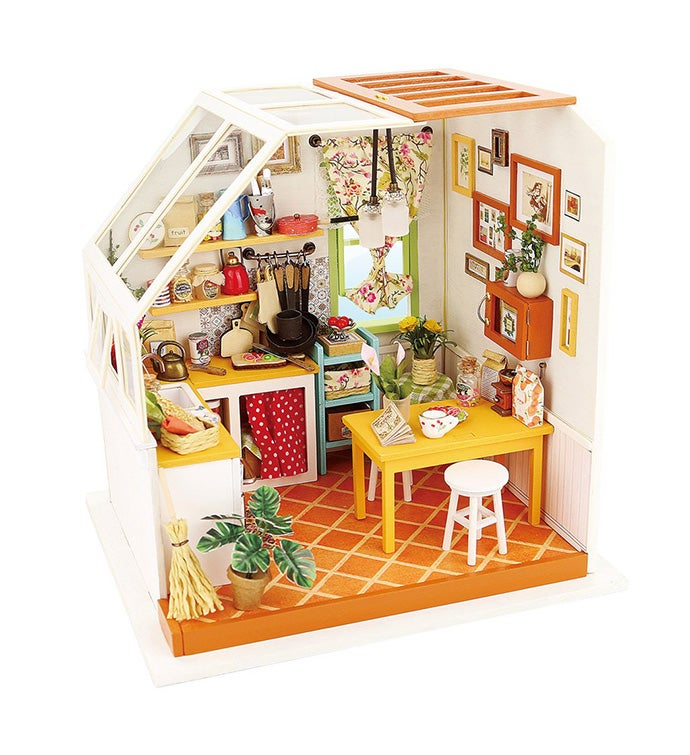Diy 3d Dollhouse Kit - Jason's Kitchen
